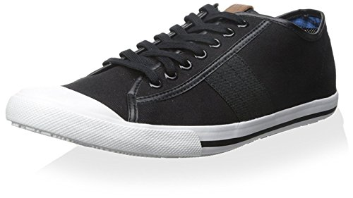 Ben Sherman Mens Eddie Lo Sneaker Noir