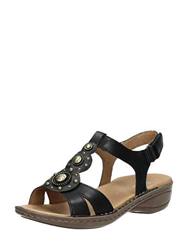 ara - Sandalias de vestir de Piel para mujer Negro * target_attribute_value 01 negro