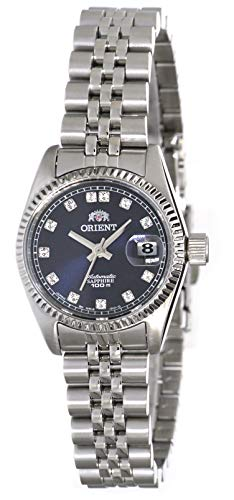 Orient President Classic Automatic Sapphire Ladies Watch Blue Dial NR16003D