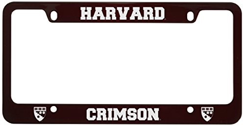 Amazon.com : Harvard University -Metal License Plate Frame-Burgundy ...