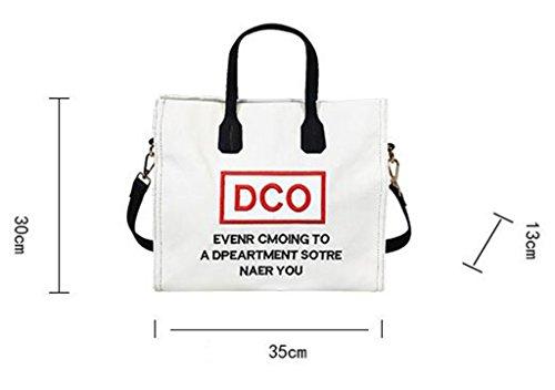 For Woman Tx Bag White Black Tools Shoulder Zffvpq