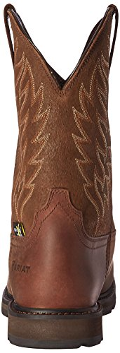 Ariat Work Mens Groundbreaker Wide Square Metguard Steel Toe Boot Brown