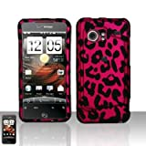 Pink leopard design phone case that fits perfectly on your HTC Droid Incredible