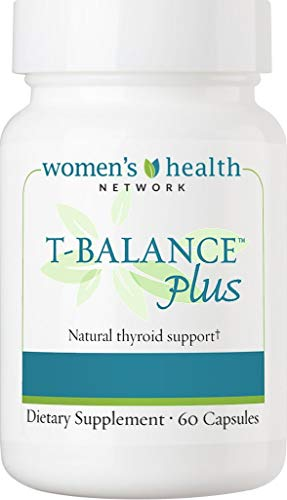 T-Balance Plus Natural Thyroid Supplement for Subclinical Hypothyroidism 60 capsules