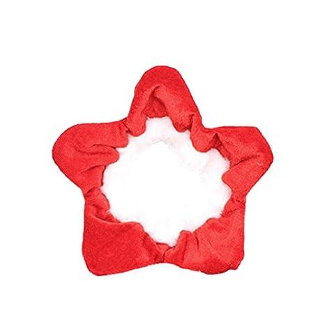 Skyoo - Bufanda de Navidad para perros y gatos, ajustable, pañuelo para mascota,