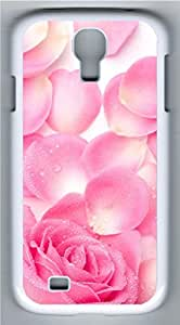 Samsung Galaxy S4 Case Customized Unique Pink Roses Cover For Samsung Galaxy S4 I9500
