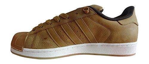 adidas Superstar Foundation Herren Sneakers MESA/MESA/DBROWN S75540
