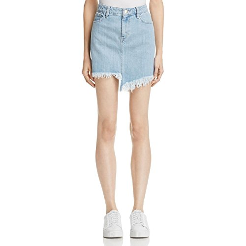 GUESS Women's Stella Re-Engineered Skirt, Super Bleached Wash, 0 ()