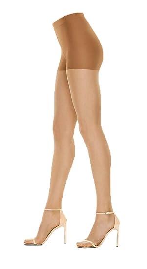 749c654e1 Hanes Women 1-Pair Tummy Control Premium Perfect Nudes Tights Caramel 3X 4X  at Amazon Women s Clothing store