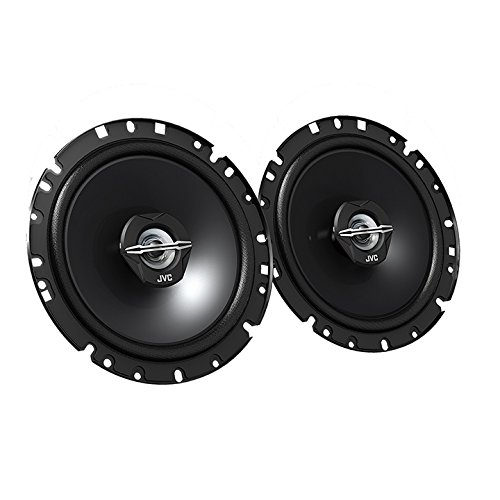 """JVC - 6.69"""" 2-Way Car Speakers with Carbon Mica Cones  - Bla"""