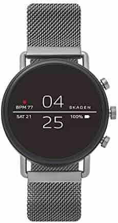 Skagen Connected ' Falster 2' Stainless Steel Smart Watch, Color:Grey (Model: SKT5105)