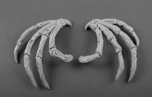 Scibor MM 28mm Miniature Conversion Parts: Demon Wings #2 ()