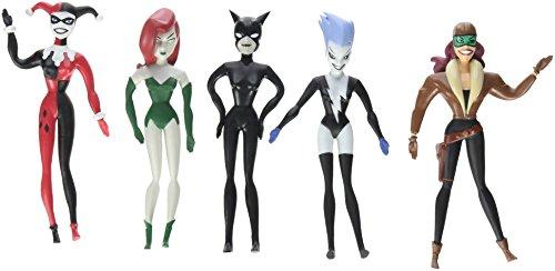 Batman: The New Batman Adventures Bad Girls Bendable Action Figure Boxed Set