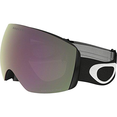Oakley Flight Deck XM Snow Goggles, Matte Black, Prizm Hi Pink, - Lens Goggle Oakley