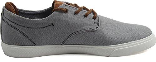 Lacoste Mens Espere 317 2 Sneaker Grigio / Marrone Scuro