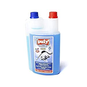 Puly Caff Steam Wand Milk Frother Cleaner Cleaning Liquid 2 Liters 08453002 Set of 2 from Puly Caff