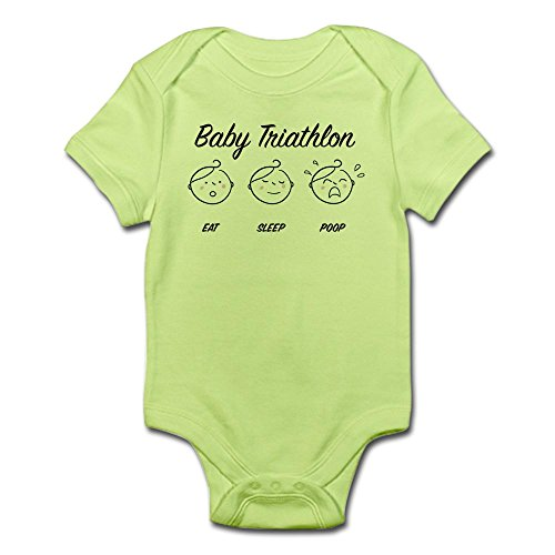 CafePress - tri-baby.jpg Body Suit - Cute Infant Bodysuit Baby - Suits Tri Unique