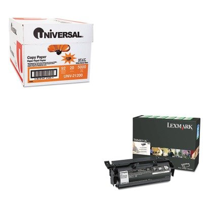 KITLEXT654X11AUNV21200 - Value Kit - Lexmark T654X11A Extra High-Yield Toner (LEXT654X11A) and Universal Copy Paper (UNV21200)