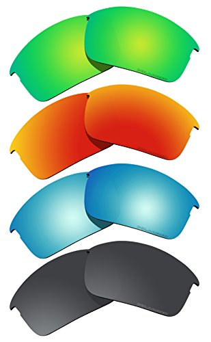 4 Pairs BVANQ Polarized Lenses Replacement for Oakley Bottle Rocket Sunglasses - Sunglasses F1