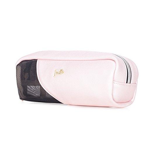 Barbie Fasion Cosmetici Borsa da Donna Ragazza Bambina Colore Rosa Argento #BBCM005 (Rosa)