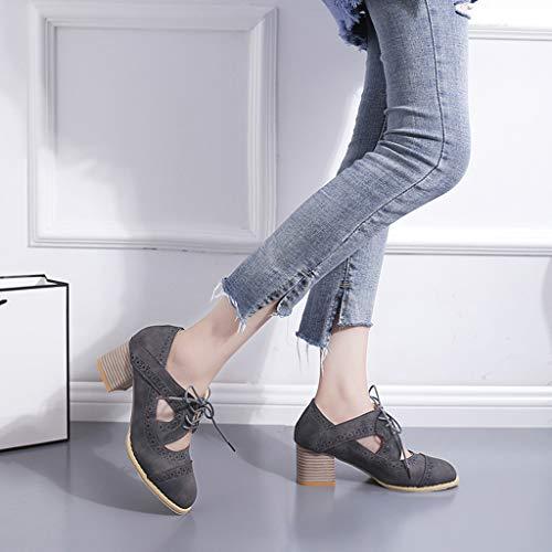 Chaussures Talons À Sunnywill Sandales DentelleCreux Femme En Bottes Gris Simples OiwXZPkTu