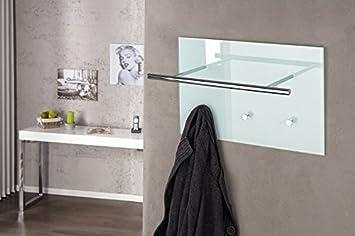 DuNord Design Garderobe Wandgarderobe Kleiderhaken HANG UP II weiss ...