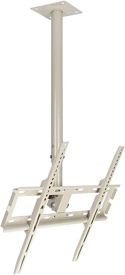 CCBBA Blanco TV LCD Soporte De Suspensión/Techo Rack / 32-55 Pulgadas Rotación Techo Percha Telescópica (Size : 12-32 Inches): Amazon.es: Hogar