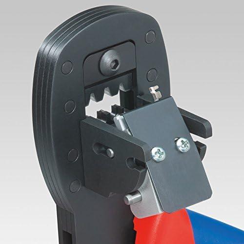 Azul Rojo crimpadora Accesorio para cables Knipex 97 54 26 Herramienta para prensar Negro 19 cm, 305 g