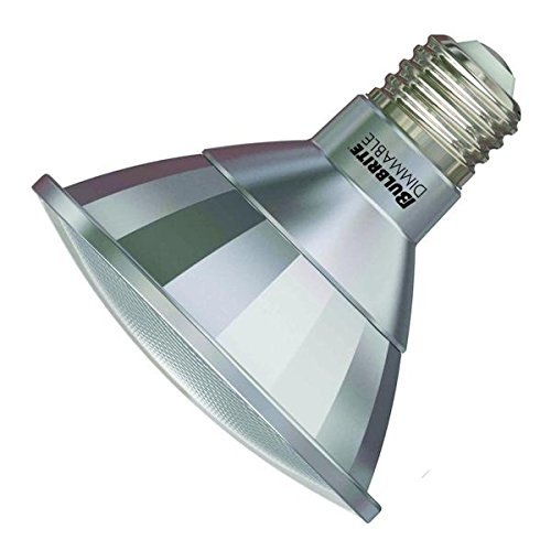 Bulbrite LED13PAR30S/NF25/830/WD 50W Halogen Equivalent - Medium (E26) Base - Narrow Flood - 13W Dimmable Wet Rated Outdoor/Indoor LED PAR30 Short Neck Reflector Bulb, Soft (Narrow Flood Reflector)