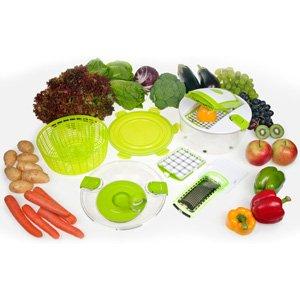 Salad Chef - Salad Spinner & Vegetable Chopper