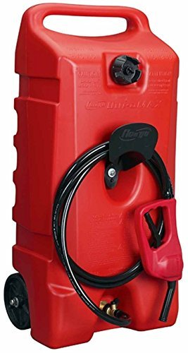 14 Gallon Portable Fuel Gas Tank Jug Container Caddy Transfer Hand Pump Hose