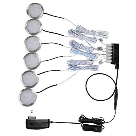 Amazon Com Led Puck Light 1020 Lumens Led Under Cabinet Lighting