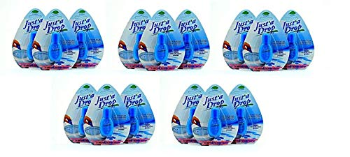 Just A Drop Toilet Personal Odor Reducer and Neutralizer - 6 Ml 3 Pack Travel Size,Blue (Fivе Расk)