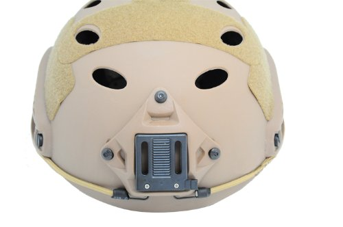 FMA Airsoft Paintball Protective Fast Helmet-PJ Type Prop Cosplay DE F389 L/XL