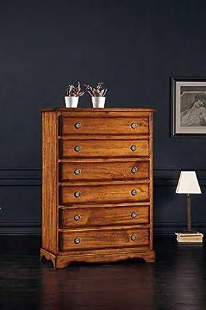 Legno&Design Cajonera, aparador, cómoda 6 cajones Color ...
