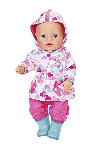 Amazon.es: Zapf Baby Born Deluxe Fun in The Rain Juego de ropita para muñeca - Accesorios para muñecas (Juego de ropita para muñeca, 3 año(s), 43 cm, Chica, ...