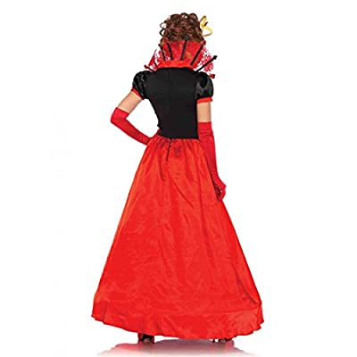 Leg Avenue Women's Deluxe Queen of Hearts Costume
