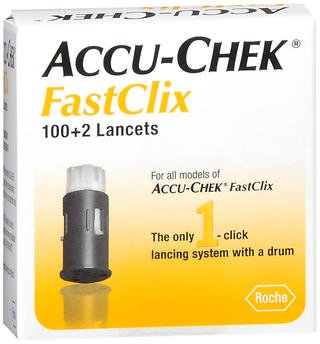 ACCU-CHEK FastClix Lancets 102 Each (Pack of 5)