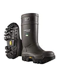 Dunlop E90203309 Explorer Thermo Full Safety Boots with Slip-Resistant Vibram Robber Sole and Steel Toe, 100% Waterproof Purofort Material, Lightweight and Durable Protective Footwear, Size 9