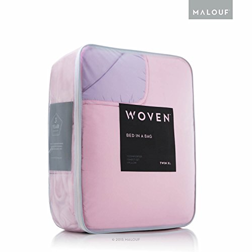 MALOUF WOVEN Reversible Bed In a Bag Complete Bedding Set -