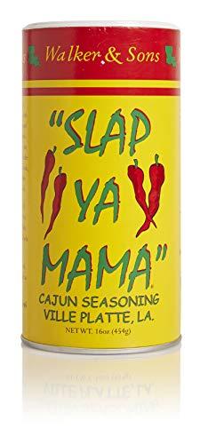 - Slap Ya Mama All Natural Cajun Seasoning from Louisiana, Original Blend, MSG Free and Kosher, 16 Ounce