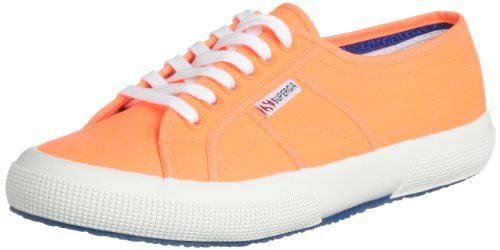 SCARPE UNISEX SUPERGA 2750 COTUFLUO S007XH0 (39 - C70 ORANGE)