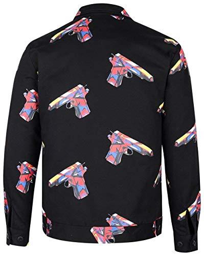 4 Flight Adelina Fit Basso Pink Risvolto Capispalla Jacket Abbigliamento Lunga Giubbotto Coat 02 3 Bomber C003 Manica HffITw