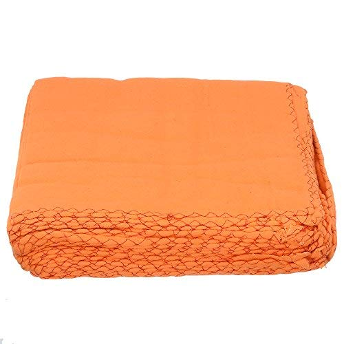 Amazon price history for Aaditri 18 x 18 inch Wet & Dry Cotton Cleaning Cloth (Orange) - Pack of 12