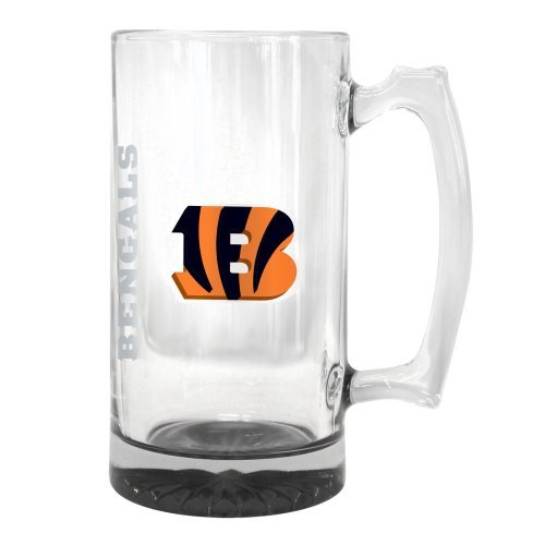 2015 NFL Team Logo Elite Tankard Mug - 25 Ounce Giant Beer Mug (Bengals)