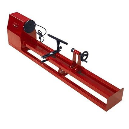 Amazon Com Wood Turning Lathe Machine 4 Adjustable Speed 0 5 Hp 1 2