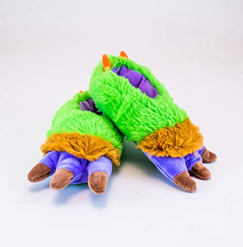 Rich Frog Monster Funky Feet Slippers for Children, Toddler Size 7 by Rich Frog (Image #1)