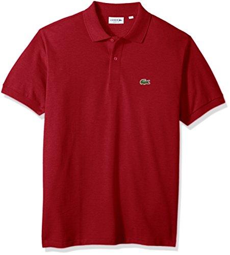 Lacoste Men's Classic Short Sleeve Chine Pique Polo Shirt, Revolution, ()