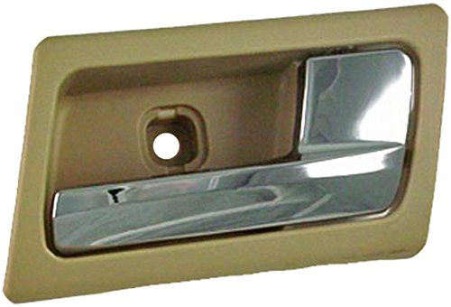 Dorman 81722 Ford Crown Victoria/Grand Marquis Front Passenger Side Beige/Chrome Interior Replacement Door Handle