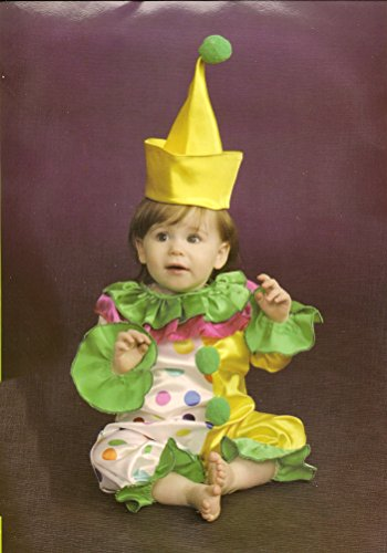 [Halloween Clown Costume for Infant Size 0-9 Months] (Halloween Costumes Gallery)